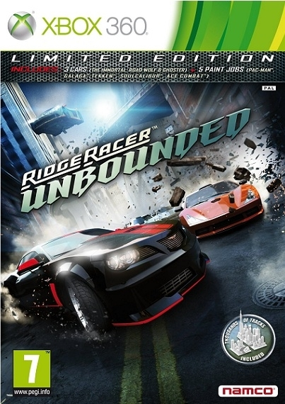 Ridge Racer Unbounded Limited Edition (Xbox 360)